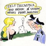GALERIE TRAMPSKÉHO KRESLENÉHO HUMORU