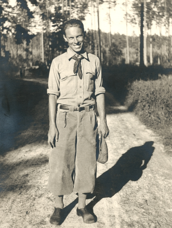 Brochesova fotka vtýdeníku Ahoj na sobotu vroce 1932
